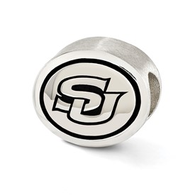 Southern University Sterling Silver Collegiate Bead