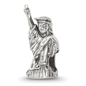 Reflection Beads Sterling Silver Statue of Liberty Bead