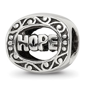 Reflection Beads Sterling Silver Hope Bead