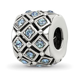 Reflection Beads Sterling Silver December Swarovski Elements Bead