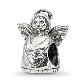 Sterling Silver Reflections Angel Bead