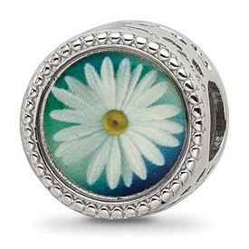 Sterling Silver Reflections April Flower Bead
