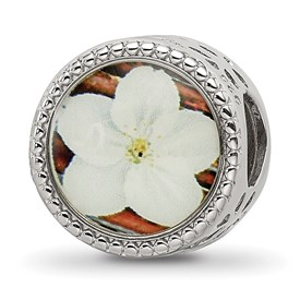 Sterling Silver Reflections May Flower Bead