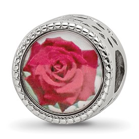 Sterling Silver Reflections June Flower Bead