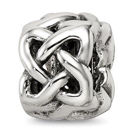 Reflection Beads Sterling Silver Celtic Knot Bead