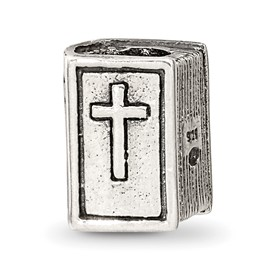 Reflection Beads Sterling Silver Bible Bead