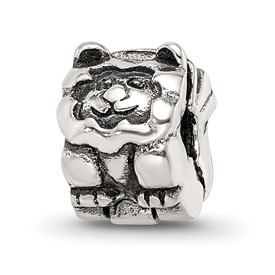 Reflection Beads Sterling Silver Kids Lion Clip Bead