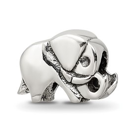 Reflection Beads Sterling Silver Kids Elephant Bead