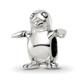 Reflection Beads Sterling Silver Kids Bird Bead
