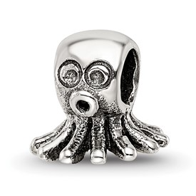 Reflection Beads Sterling Silver Kids Octopus Bead