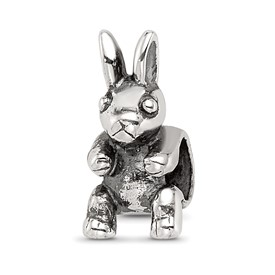 Reflection Beads Sterling Silver Kids Bunny Bead