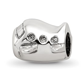 Reflection Beads Sterling Silver Kids Airplane Bead