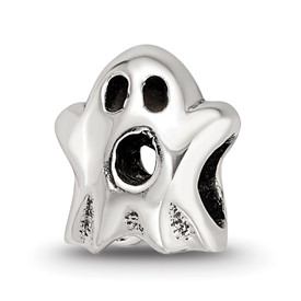 Reflection Beads Sterling Silver Kids Ghost Bead