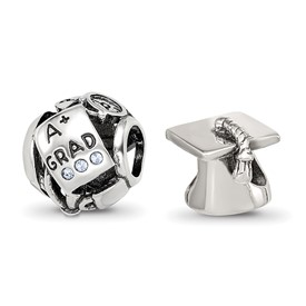 Reflection Beads Sterling Silver Graduation Boxed Bead Set
