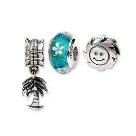 Reflection Beads Sterling Silver Island Paradise Boxed Story Set