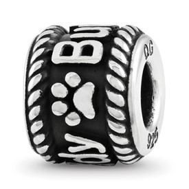 Customizable Paw Print Bead