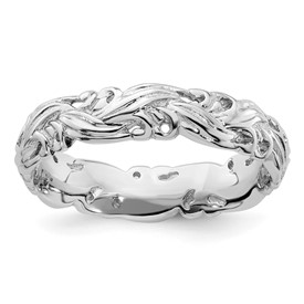 Stackable Expressions Sterling Silver Polished Ring