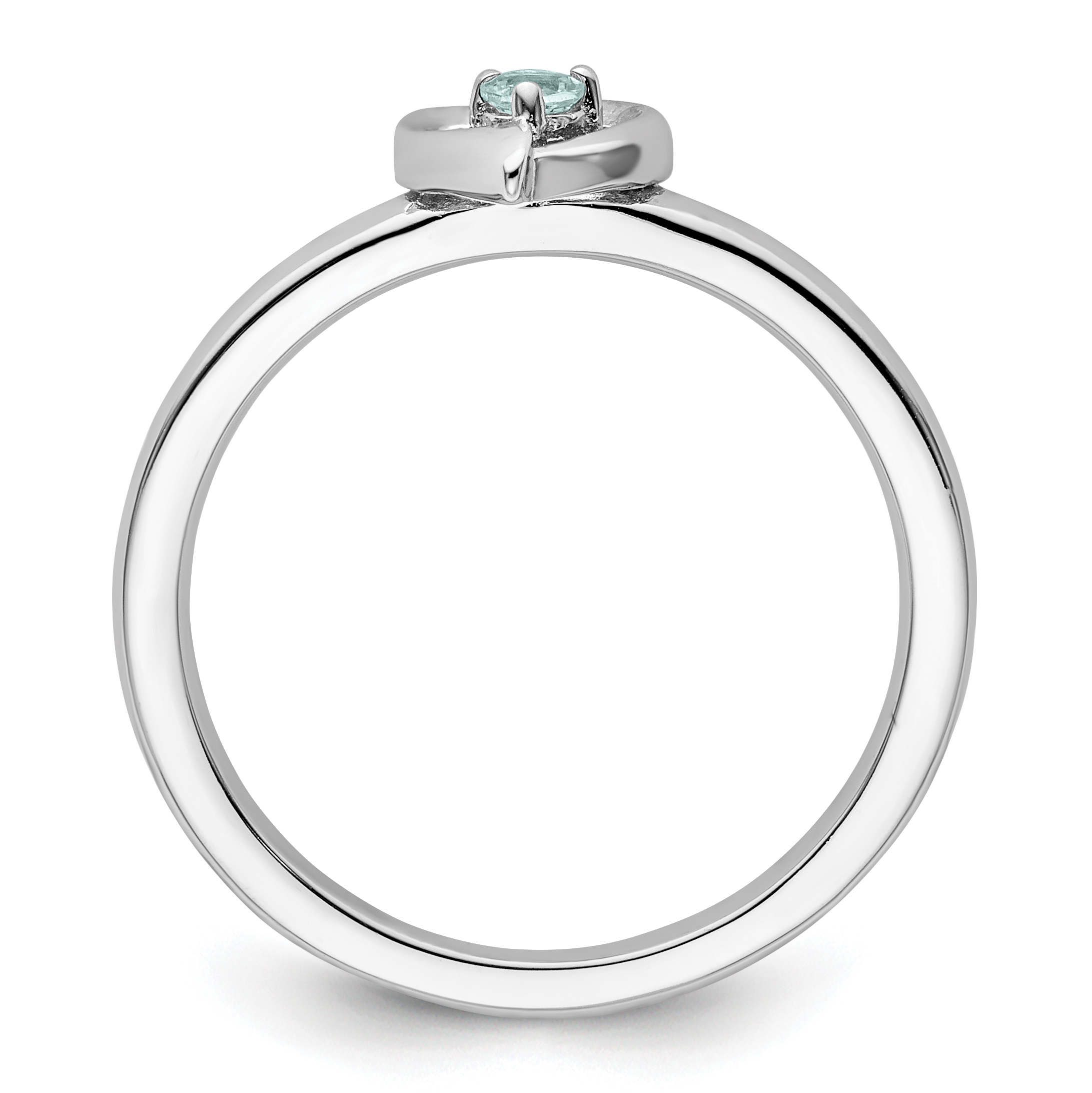 sterling silver w rhodium plated stackable expressions