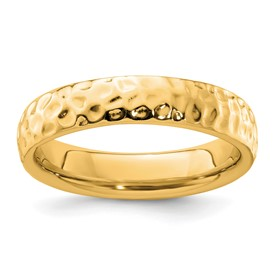 Stackable Expressions Sterling Silver Gold-plated Ring