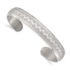 Chisel Stainless Steel Cuff Bangle