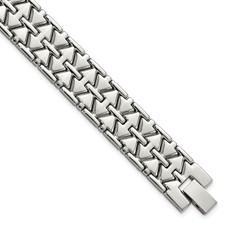 Stainless Steel Polished Fancy Link Bracelet