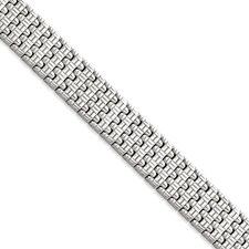 Stainless Steel Polished Fancy Link Bracelet