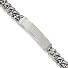 Stainless Steel Polished 8.25in ID Bracelet