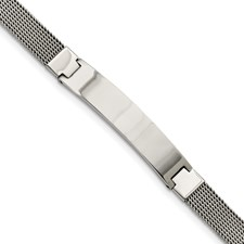 Chisel Stainless Steel Mesh with ID 7.75 inch Bracelet