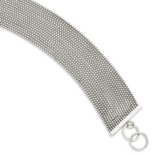 Chisel Stainless Steel Multi-strand 8 inch Box Chain Bracelet