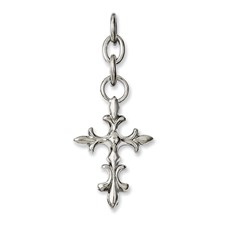 Chisel Stainless Steel Cross Interchangeable Charm Pendant