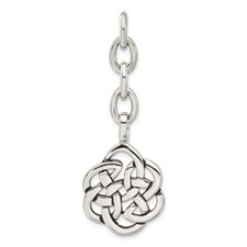 Chisel Stainless Steel Celtic Knot Interchangeable Charm Pendant