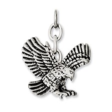 Chisel Stainless Steel Eagle Interchangeable Charm Pendant