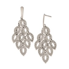 Stainless Steel Polished Post Earrings