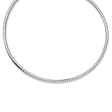 Chisel Stainless Steel 5mm Tubagos Necklace