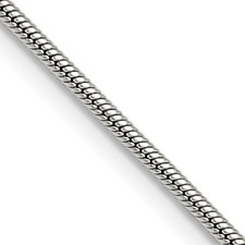 Chisel Stainless Steel 2.0mm 18 inch Snake Chain