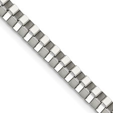 Chisel Stainless Steel 4.0mm 20 inch Box Chain