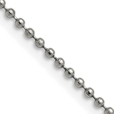 Stainless Steel 2.0mm 16in Ball Chain
