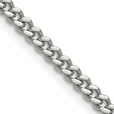Chisel Stainless Steel 4mm Curb Chain