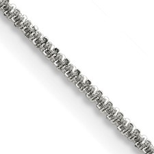 Stainless Steel Polished 1.7mm Cyclone 20in Chain