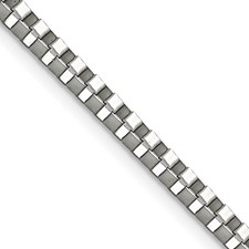 Chisel Stainless Steel 3.2mm 20 inch Box Chain