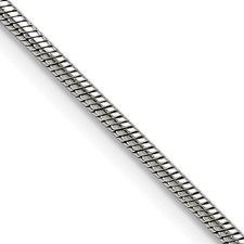 Chisel Stainless Steel 2.4mm 20 inch Snake Chain