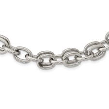 Chisel Stainless Steel Multiple Links 22 inch Necklace
