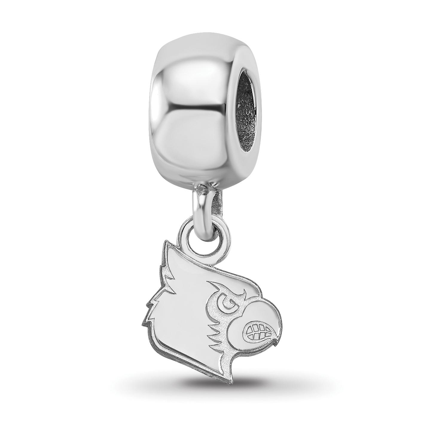 LogoArt NCAA DePaul University Sterling Silver XS Dangle Bead