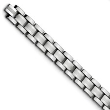 Chisel Tungsten Polished Bracelet