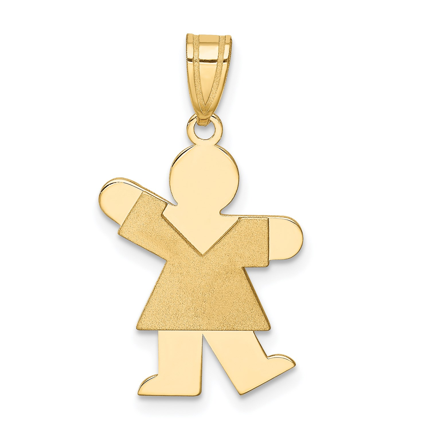 14k-Yellow-Gold-Girl-Charm-1in-x-0-5in