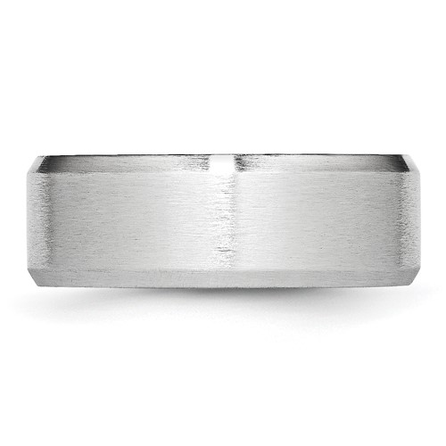 Chisel Cobalt Chromium All Satin 8mm Band