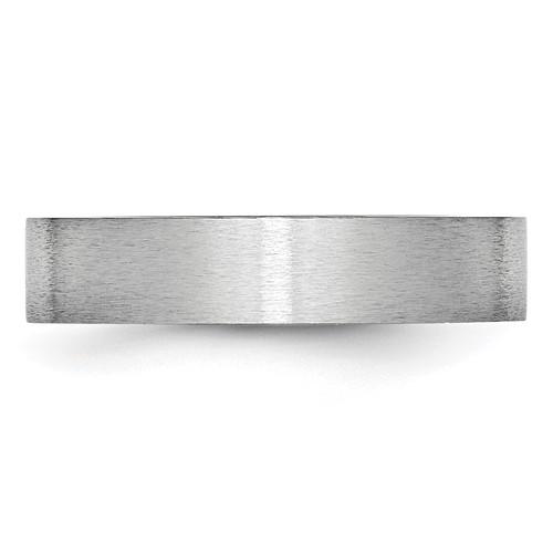 Chisel Cobalt Chromium Satin 5mm Band