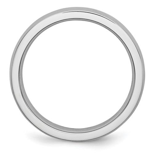 Chisel Cobalt Chromium Polished 4mm Band