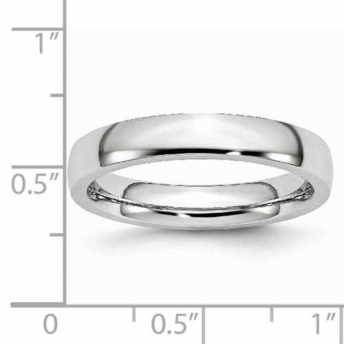 Chisel Cobalt Chromium Polished 4mm Band