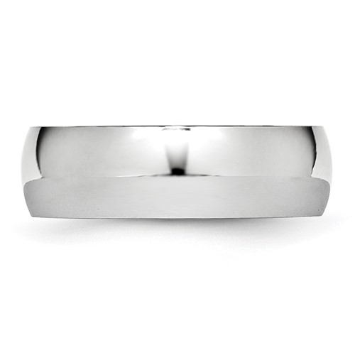 Chisel Cobalt Chromium Polished 7mm Band